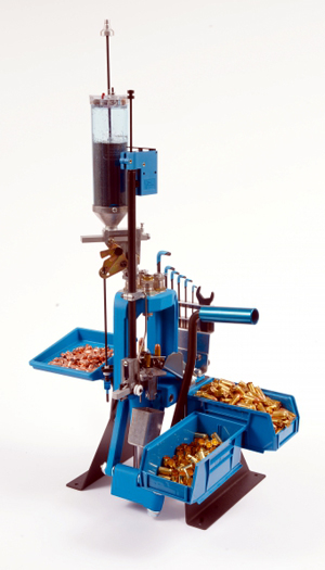 Dillon RL550B Reloading Machine, The most versatile reloader available,  capable of loading over 160 calibers  , An automatic casefeeder is  available